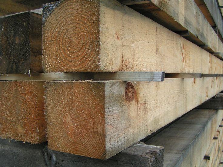 17 Best images about Notre bois en extérieur, pruche et c u00e8dre on Pinterest Rouge # Reparer Poutre Bois Exterieur