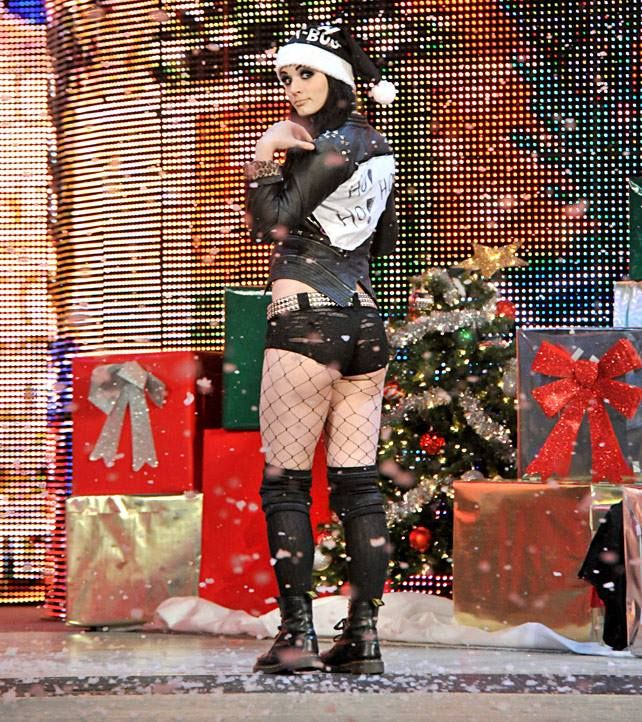 Paige) Merry Christmas everyone! *smiles* and also when I'm just gone for a few hours all this happens? What the bloody h*ll?