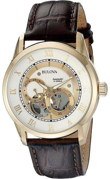 Bulova Mens Watches.  Bulova - Automatic - 97A121 Watches.