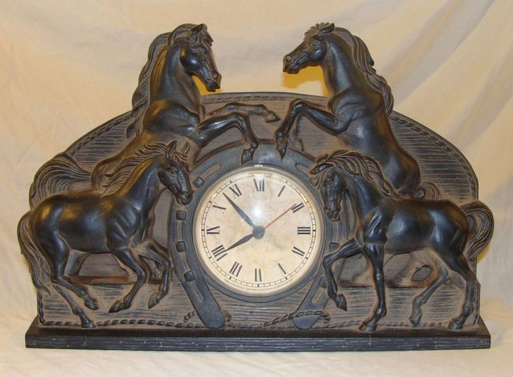 Roundup the end of your year with some home decor items for the New Year! Horse Clock by Home Interiors and Gifts is just one of the many Fundraiser items (make sure to check out our other items by clicking on the link at the bottom of each listing).    http://www.ebay.com/itm/201487994424