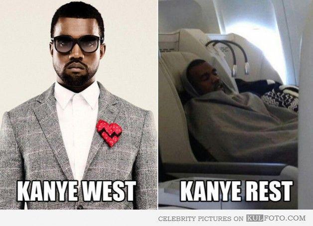 Kanye West and Kanye Rest