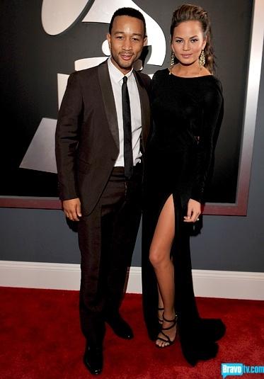 Chrissy Teigen - Grammy's 2012