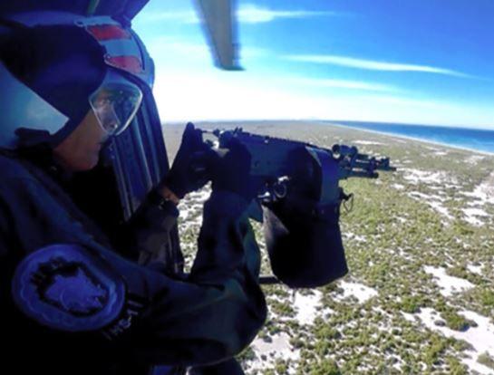 La Marina de Brasil homologa el uso de ametralladoras MAG 7.62 mm. en helicópteros Seahawk