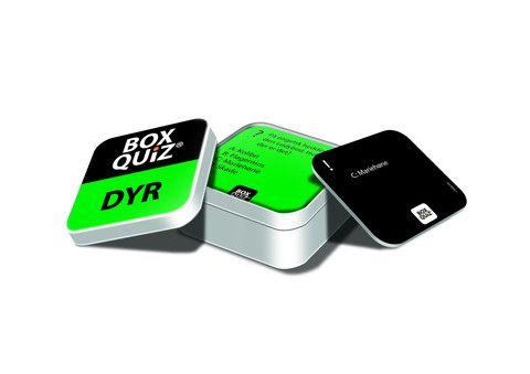 BOX QUIZ DYR - den originale lille quiz om store emner - BOX QUIZ er Dansk design
