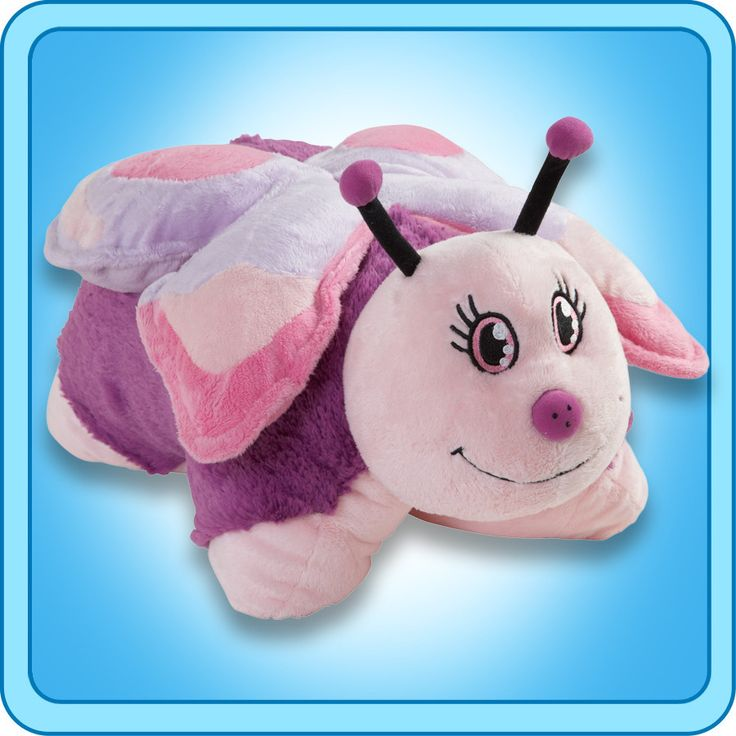 PeeWee Pink Butterfly | My Pillow Pets® Canada