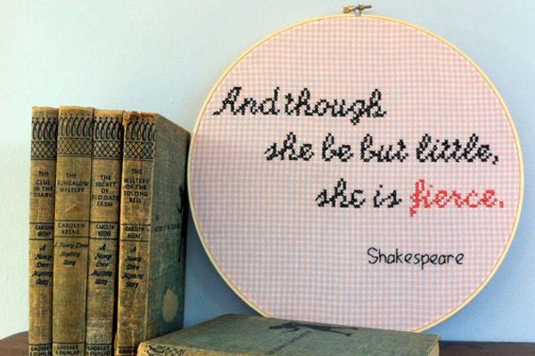 15 Feminist Subversive Cross-Stitch Embroidery Pieces You Need | Gurl.com