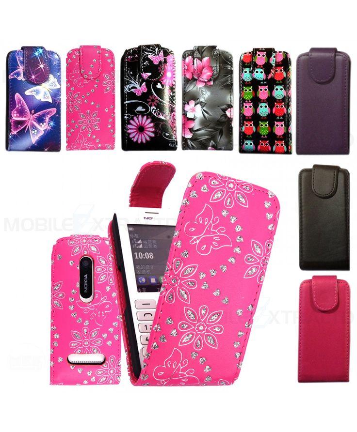 Genuine Leather Flip Case For Nokia Asha 310 , Flip Cover for Nokia Asha 310 , Premium PU Leather Flip Pouch Case Cover For Nokia Asha 310 . 66245339872583
