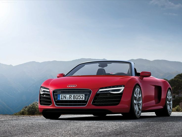 2013 Audi R8 Red Convertible Sports Cars New Cars