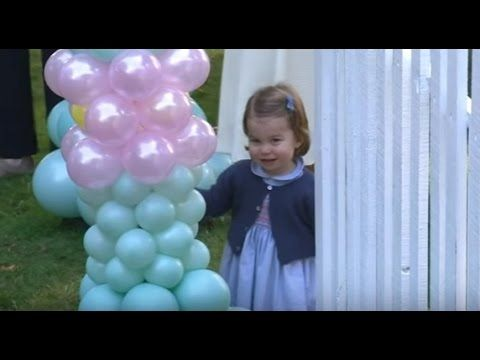 Prince George and Princess Charlotte steal the show at royal playdate (S...