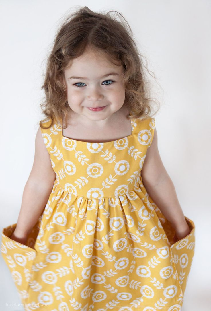 Sally dress pattern for sizes 2T-8. So adorable, especially with all the variations they show! $9.95