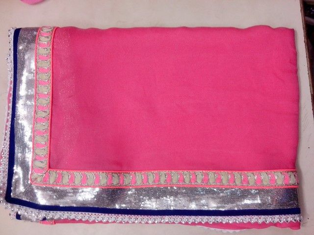 Ggt saree with laces