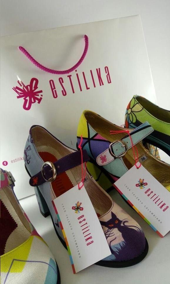 nuestros zapatos de tacón con diseños son únicos, hechos con manufactura y talento 💯% 🇨🇴 colombiano