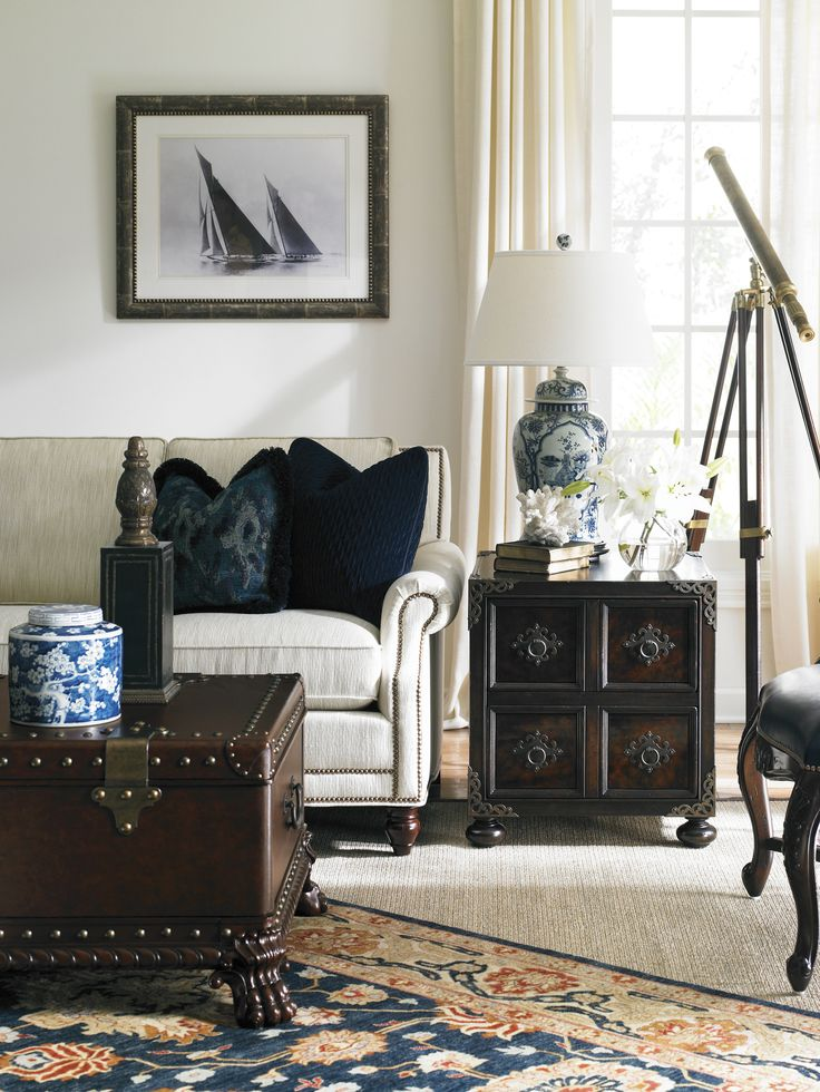 Lexington Home Brands | Island Traditions Harwick Trunk Bromwich Chest  #HPmkt 1300 National Highway Thomasville