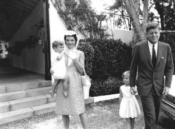 The Kennedy family on Easter Sunday, April 20, 1962.