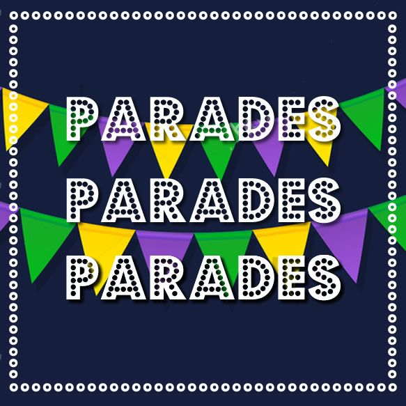 New parades for Mardi Gras! 2017 Galveston. See the schedule for all of the parades during the festival here...