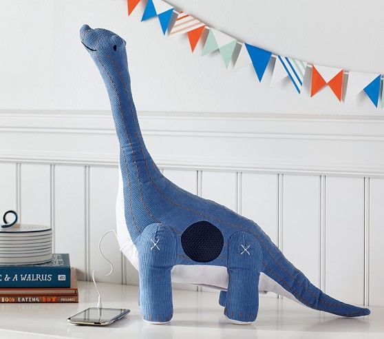 Have you even seen a cuter sound system? This Dino Plush Speaker is adorable!
