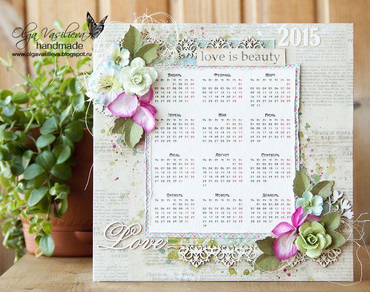 Scrap story ...: Calendar for Scrapiniec