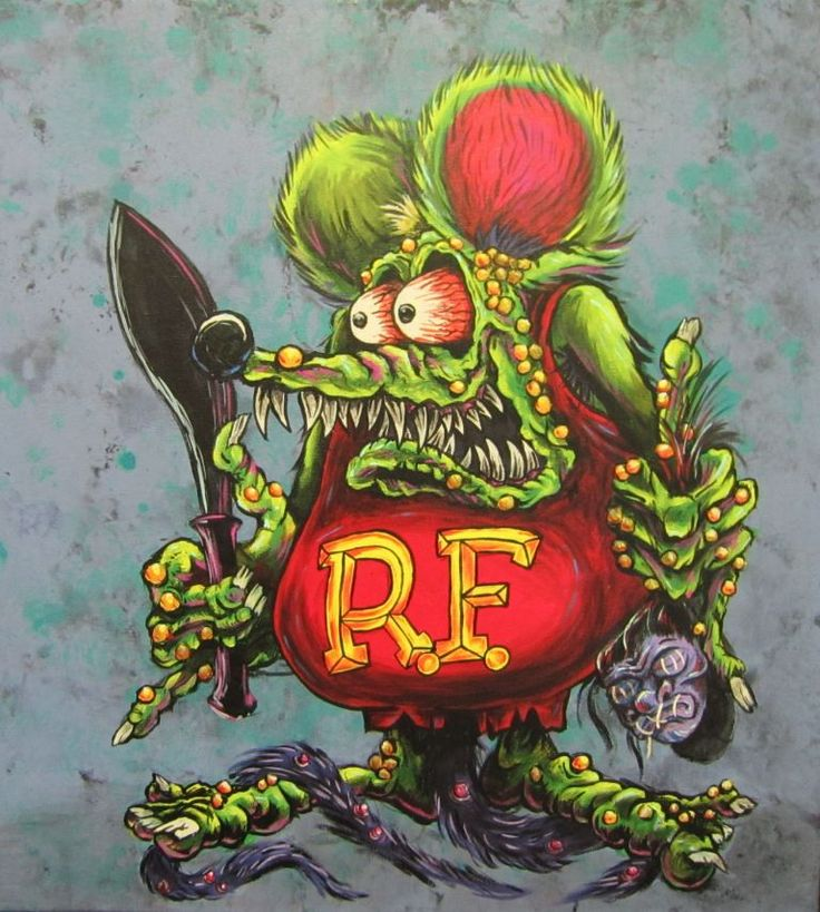 Ed Roth Tattoo Designs
