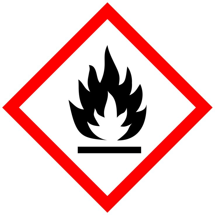 Fire Hazard Pictogram