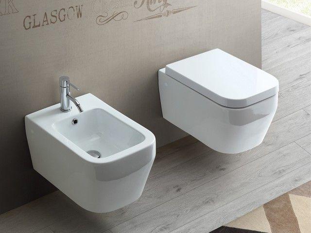 34 best sanitari bagno sospesi images on pinterest - Sanitari bagno sospesi neri ...