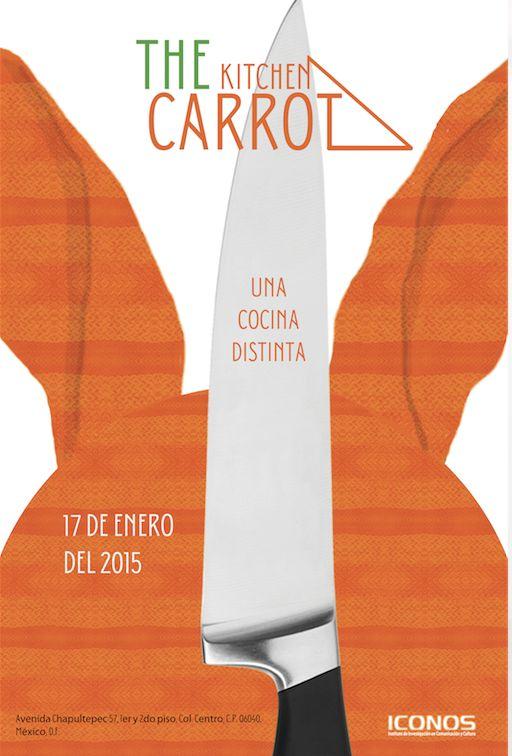 The Kitchen Carrot Familia de cuchillos inspirados en el diseñador industrial Sebastian Wrong.  Estudiante: Diego Larios Contreras. Licenciatura en Diseño Digital.