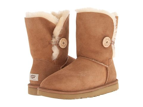 UGG Bailey Button Chestnut - these babies are headed my way. I was on the fence for a long time- then I tried on a pair.