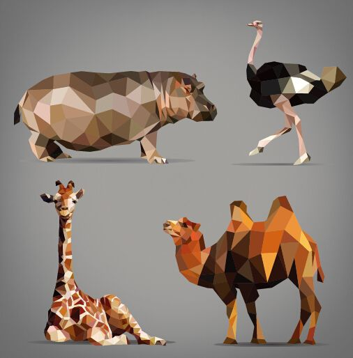 06 Geometric Animal   Roosevelt Graphic Arts