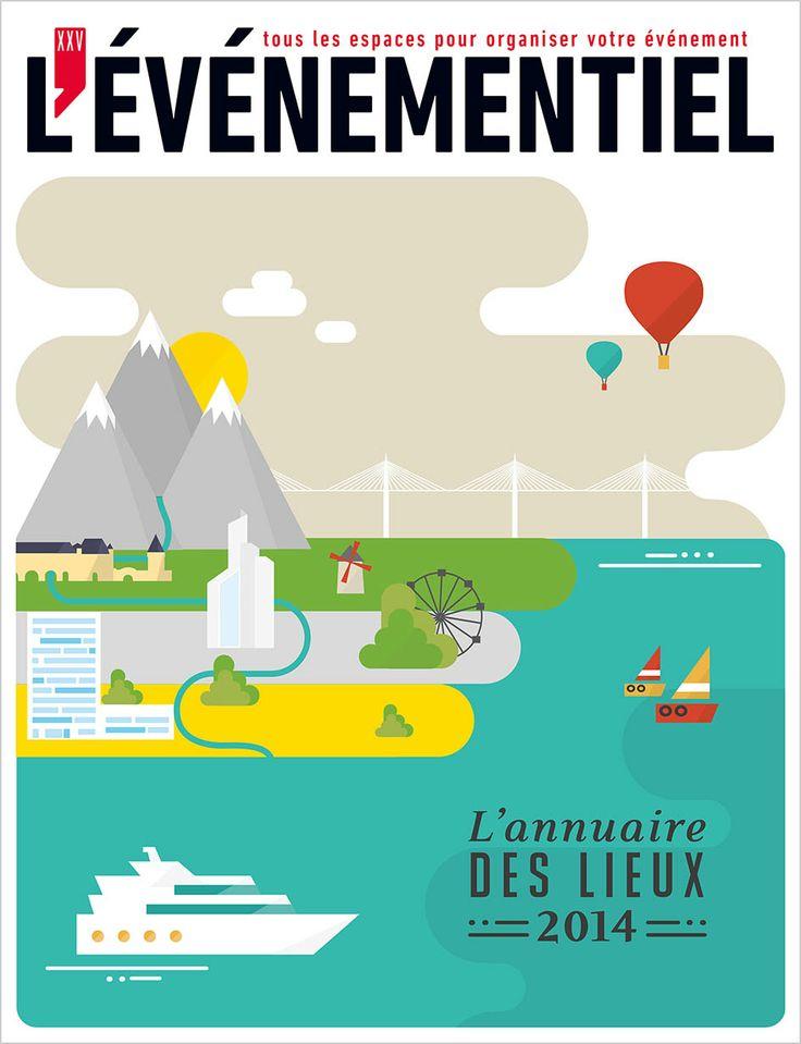 Il est sorti ! L'Annuaires des Lieux 2014 À commander sur : http://www.evenementiel.fr/publication