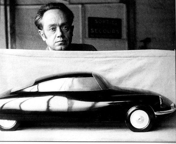Flaminio Bertoni, Citroen DS project