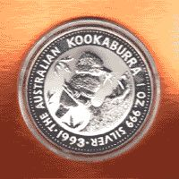 This is an Australian Kookaburra coin. One of the most popular forms of Australian silver investment for sure.