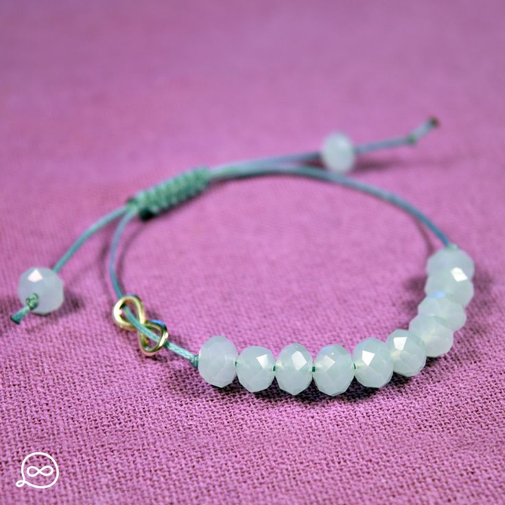 White Beads Bracelet. #tufatufa
