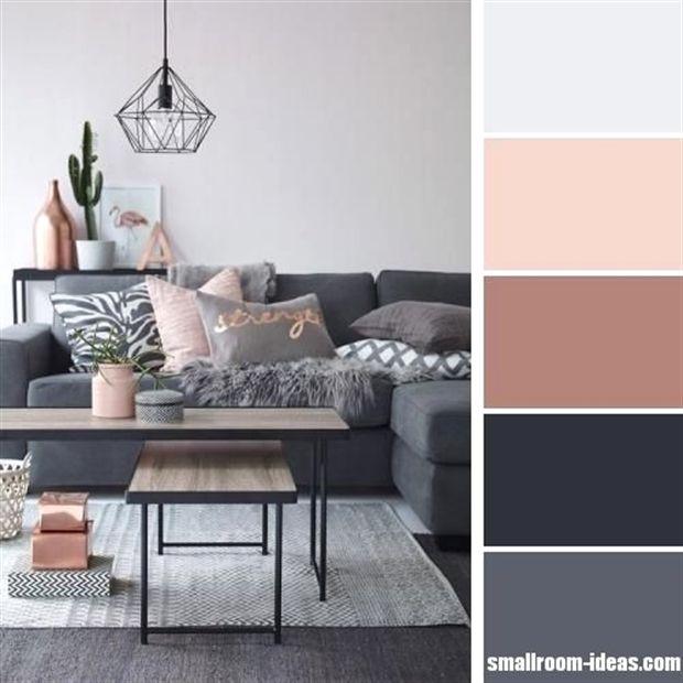 15 simple small living room color scheme ideas | #LivingRoomIdeas ...