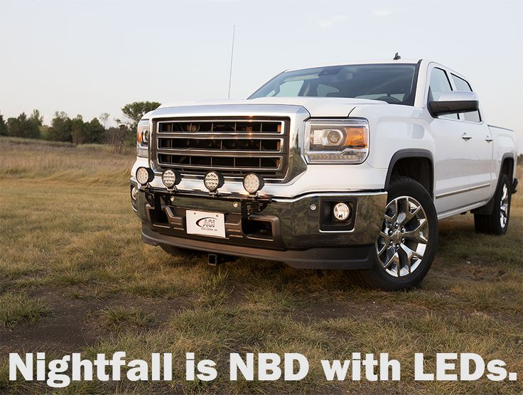 Don't worry if dark is approaching. With a set of ACI Off-Road LED Lights, night really is No Big Deal.