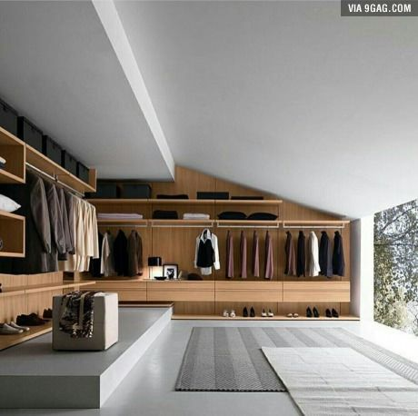 The perfect gentleman's wardrobe and room
