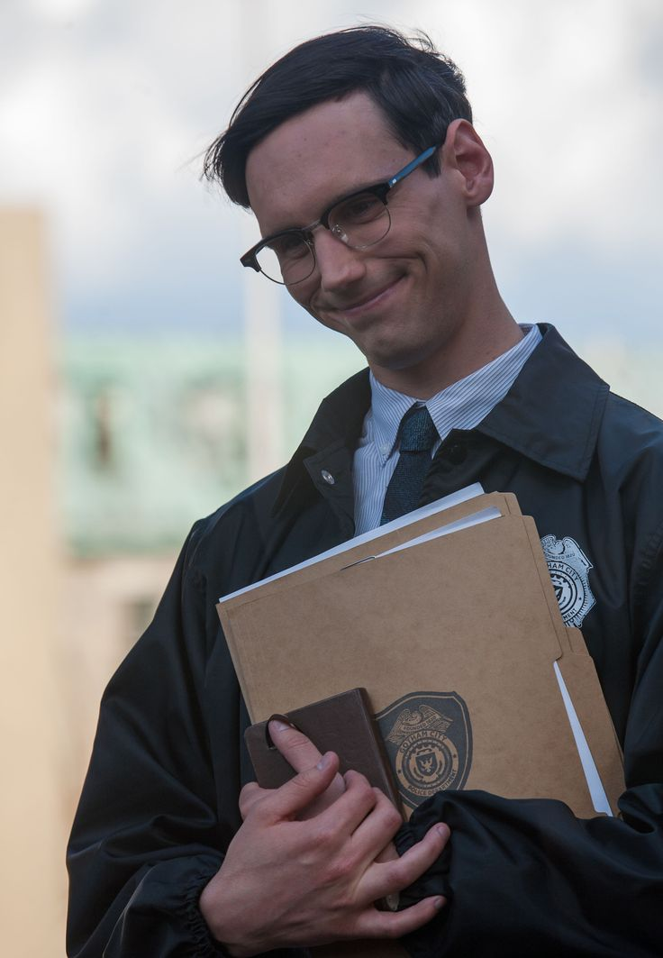 Edward Nygma (Gotham TV Series)<< he's my favourite character honestly he's so great and interesting.
