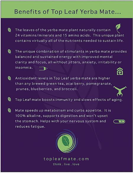 Benefits of Yerba Mate