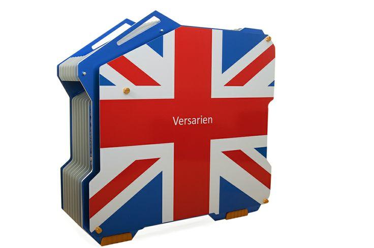 Versarien Ltd,  Promotional shot of water cooled computer!