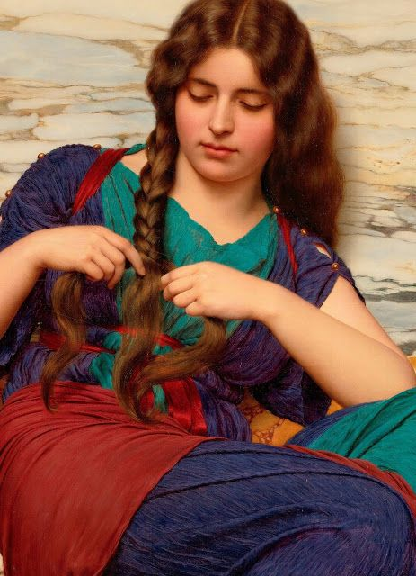 Art au Monde: John William Godward - A congenial task