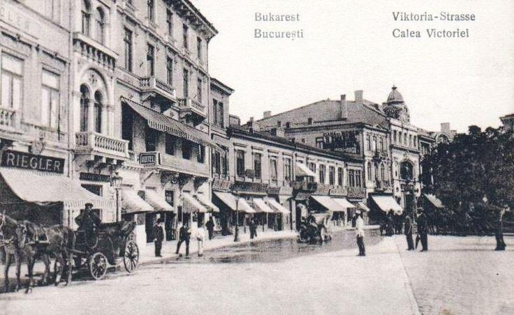 Bucuresti - Calea Victoriei - antebelica