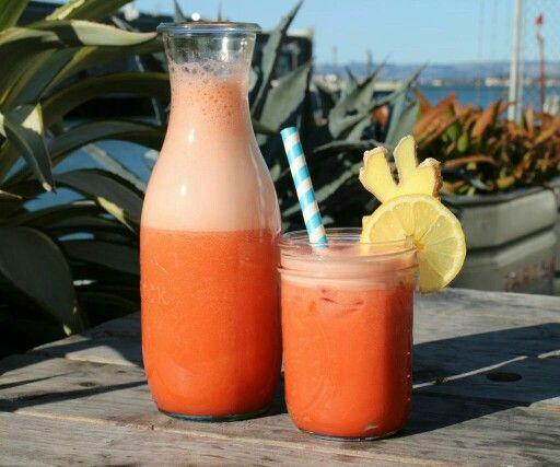 Strawberry & Ginger Lemonade