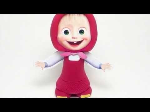 Masha - Masha and the Bear - Clay Buddies - YouTube