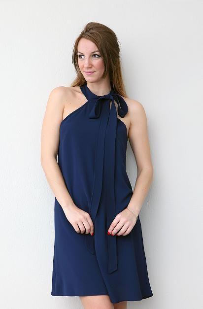 olivia palermo style blue navy dress www.charmstyle.gr