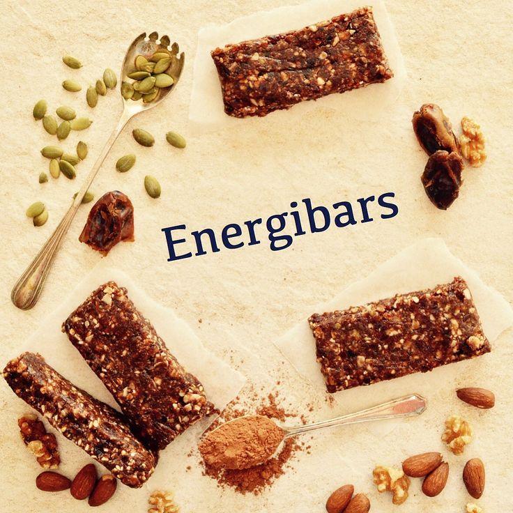 Energibars! Ett härligt mellanmål som kan ge dig lite extra energi. 😊💚 Receptet finns i meny 12.  www.allaater.se