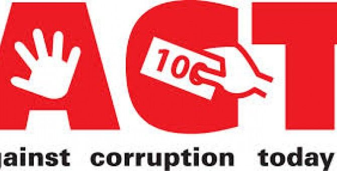 stop corruption and impunity.