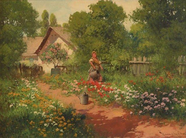 Tájképfestészet Neogrády László (1900-1962) a magyar művész