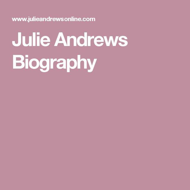 Julie Andrews Biography