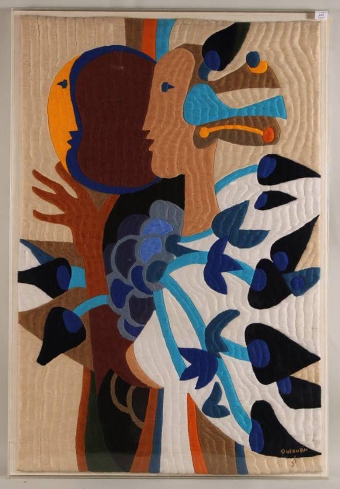 QUERUBIM LAPA - TEXTILE AND VISUAL ARTIST - PORTUGA