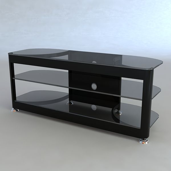Tv stand 3D Model- Qualitative 3d model of tv table  This is a 3d model of tv table to add more details and realism to your interior rendering projects. Detailed enough for close-up renders.  Originally modelled in 3ds max 2009. Final images rendered with vray 1.50 Sp2.  All materials are included and mapped.  The 3ds max 2009 zip file contains also vray materials scenes.  ***********************************  formats 3ds, obj, fbx does not contain materials and textures. - #3D_model #Other…
