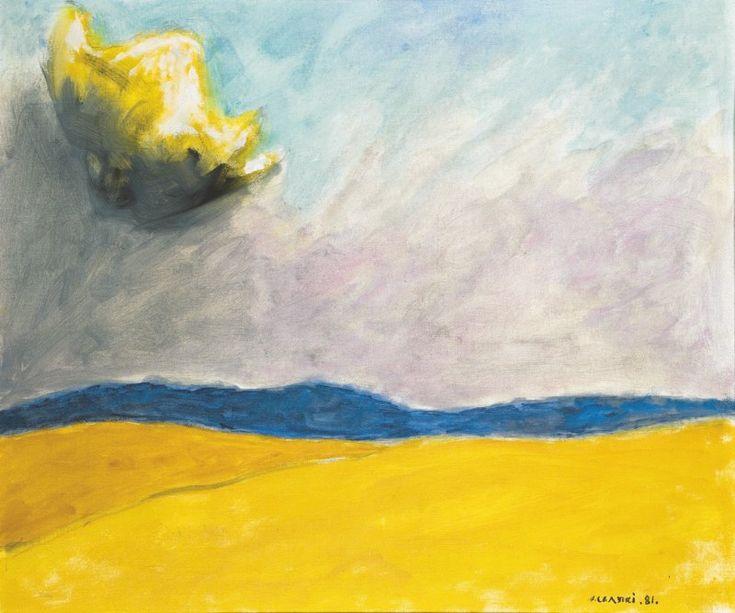 """Jozef Czapski """"Lsniaca chmura"""" 1981"""