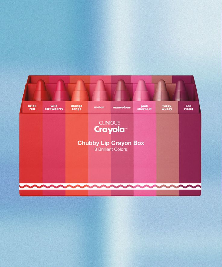 Clinique Crayola Chubby Stick Lip Balm Collab